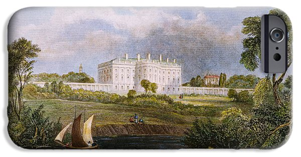 1839 iPhone Cases - White House, D.c., 1839 iPhone Case by Granger