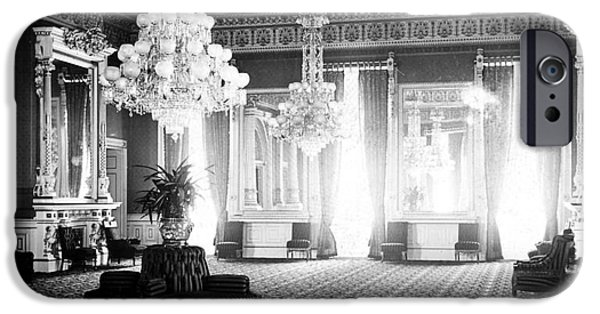 First Lady iPhone Cases - White House: East Room iPhone Case by Granger