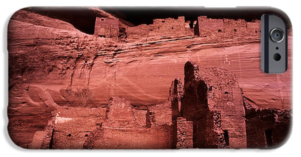 White House iPhone Cases - White House Ruin New Mexico iPhone Case by Bob Christopher