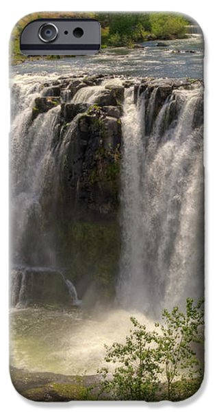 White River Falls iPhone Case by Connie Cooper-Edwards