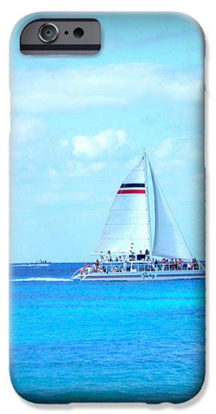 White Sails iPhone Case by Danielle  Parent