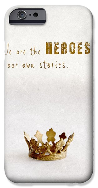For Busines iPhone Cases - Who to crown... iPhone Case by Taschja Hattingh
