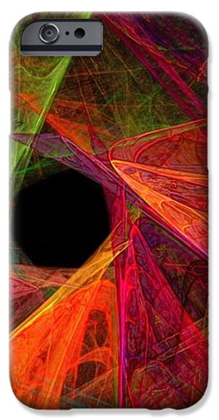 Wide Eye Color Delight Panorama iPhone Case by Andee Design
