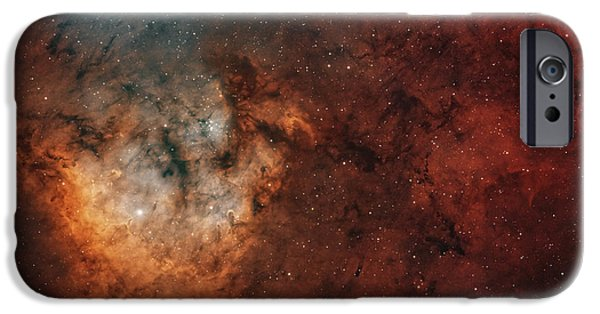 Astrophysics iPhone Cases - Widefield View Of The Young iPhone Case by Rolf Geissinger
