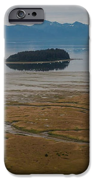 Wild Alaska Coast iPhone Case by Mike Reid