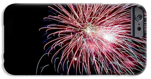July 4th iPhone Cases - Wild Sky Flower iPhone Case by Phill  Doherty