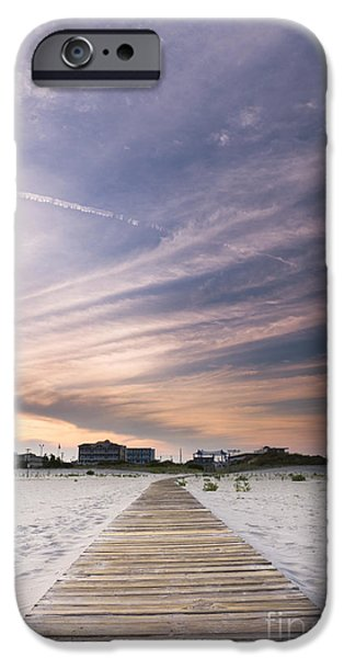 Jersey Shore iPhone Cases - Wildwood Crest New Jersey Sunset iPhone Case by Dustin K Ryan