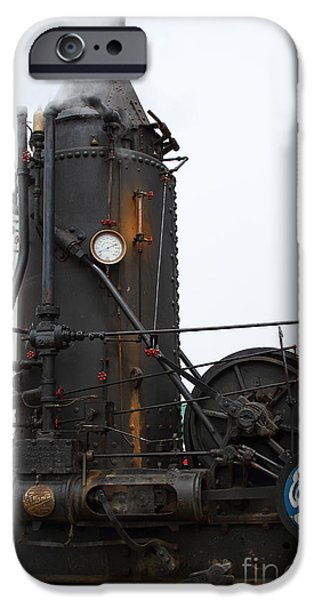 Willamette Steam Engine 7d15105 iPhone Case by Wingsdomain Art and Photography