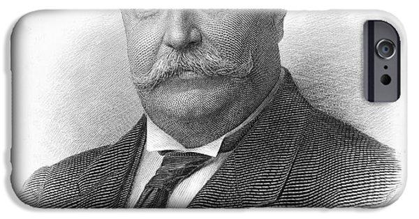 Taft iPhone Cases - William H. Taft iPhone Case by Granger