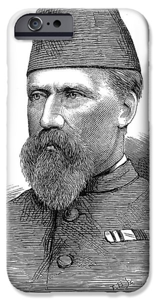 Fez iPhone Cases - William Hicks (1830-1883) iPhone Case by Granger