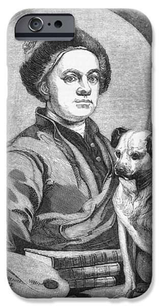 William Hogarth, British Artist iPhone Case by Middle Temple Library