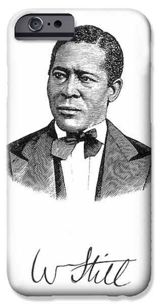 WILLIAM STILL (1821-1902) iPhone Case by Granger