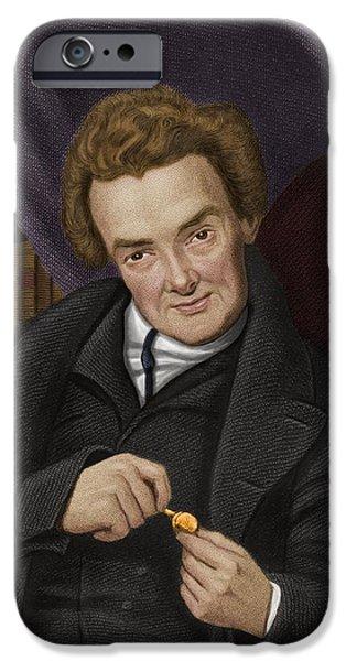 William Wilberforce, British Abolitionist iPhone Case by Maria Platt-evans