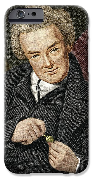 Abolition Movement iPhone Cases - William Wilberforce, British Politician iPhone Case by Sheila Terry
