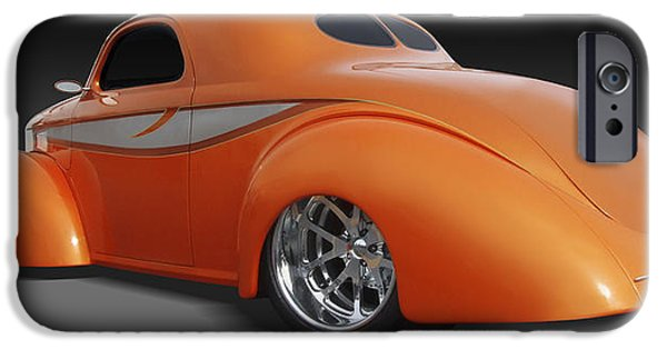 Drag iPhone Cases - Willys iPhone Case by Mike McGlothlen