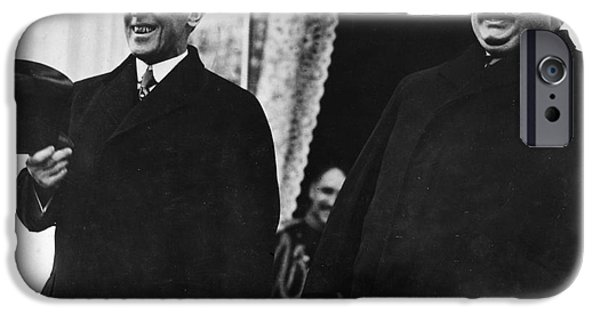 Taft iPhone Cases - Wilson & Taft, 1913 iPhone Case by Granger