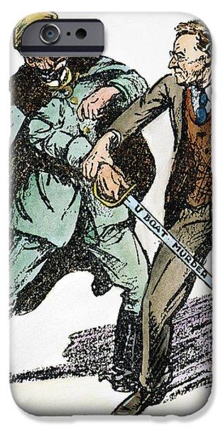 WILSON & THE KAISER: iPhone Case by Granger