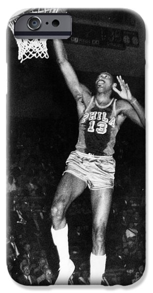 WILT CHAMBERLAIN (1936-1996) iPhone Case by Granger