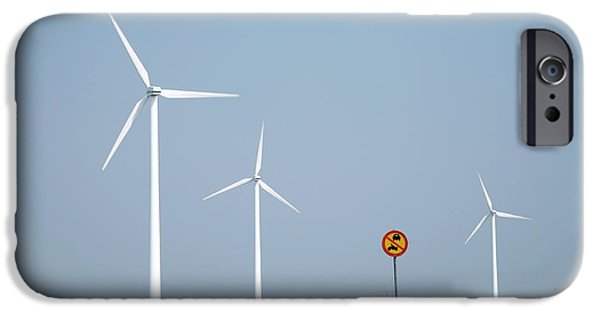 Industry iPhone Cases - Wind Farm, Sweden iPhone Case by Bjorn Svensson