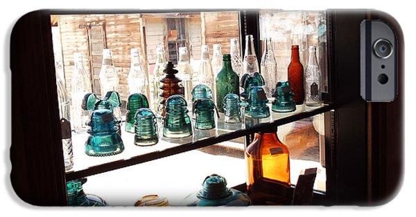 Cabin Window iPhone Cases - Window Box iPhone Case by Cindy Nunn