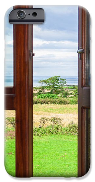 Window View iPhone Case by Semmick Photo