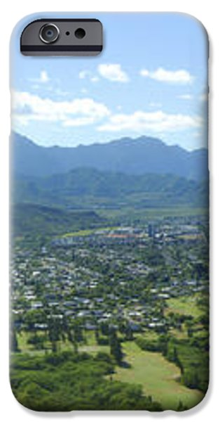 Windward Oahu Panorama I iPhone Case by David Cornwell/First Light Pictures, Inc - Printscapes