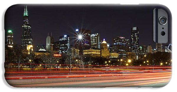 Cj iPhone Cases - Windy City Fast Lane iPhone Case by CJ Schmit