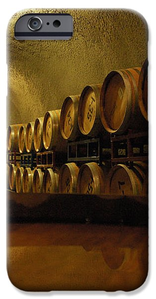 Wine Cellar iPhone Case by Micah May