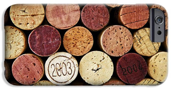 Cork iPhone Cases - Wine corks iPhone Case by Elena Elisseeva