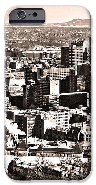 Winter in the City ... iPhone Case by Juergen Weiss