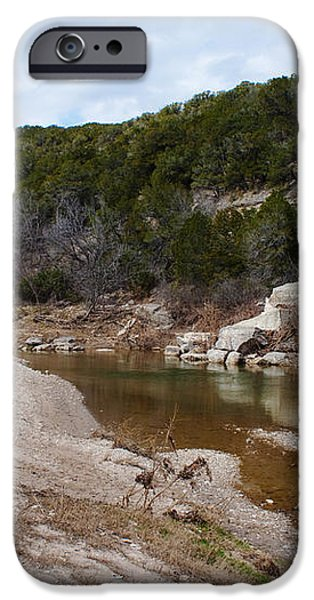 Winter River iPhone Case by Lisa Holmgreen