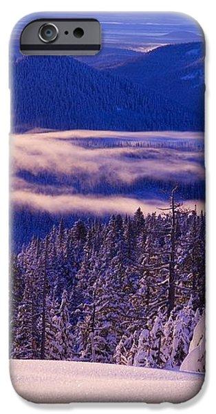 Winter Snow, Cascade Range, Oregon, Usa iPhone Case by Craig Tuttle