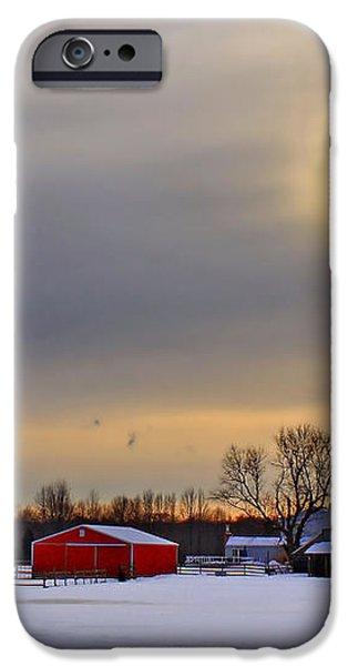 Winter Sun iPhone Case by Evelina Kremsdorf