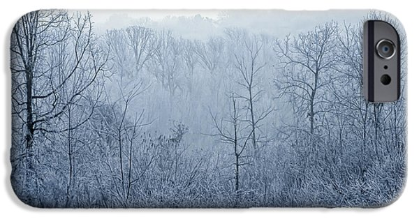 Christmas Greeting iPhone Cases - Winter Wonderland iPhone Case by Scott Norris