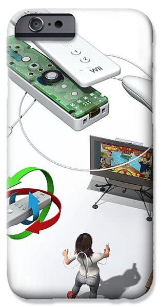 Wireless Home Video Game System iPhone Case by Jose Antonio PeÑas