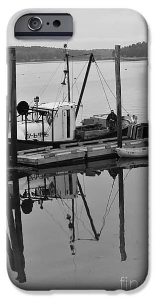 Wiscasset Reflection iPhone Case by Catherine Reusch  Daley