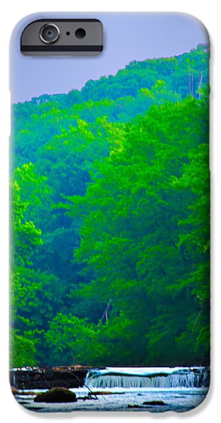 Wissahickon Creek iPhone Case by Bill Cannon