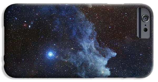 Remnant iPhone Cases - Witch Head Nebula iPhone Case by Stocktrek Images