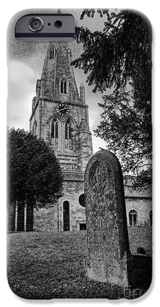 Recently Sold -  - Final Resting Place iPhone Cases - Wollaston Church iPhone Case by David Arment