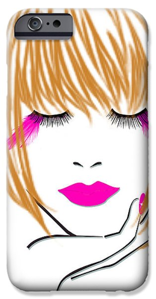 Woman 10 iPhone Case by Cheryl Young