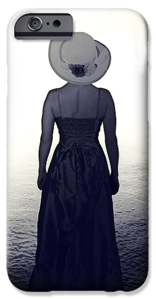 woman at the shore iPhone Case by Joana Kruse