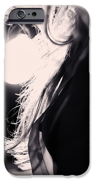 Adult iPhone Cases - Woman Silhouette iPhone Case by Stylianos Kleanthous