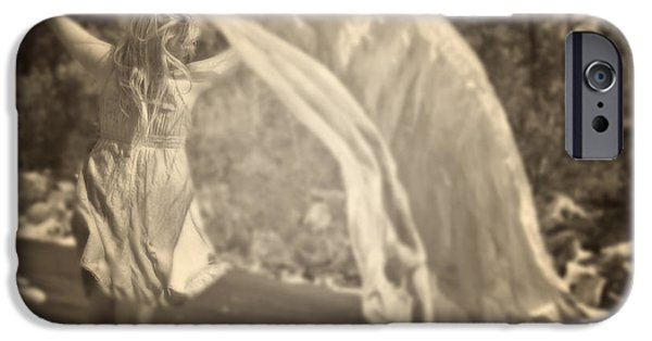 Young Photographs iPhone Cases - Woman With Veil iPhone Case by Joana Kruse
