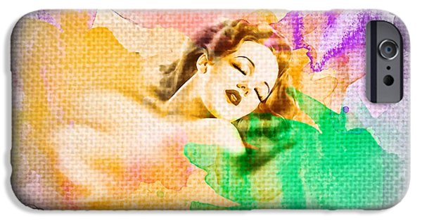 Torn iPhone Cases - Womans Soul Part 1 iPhone Case by Mo T