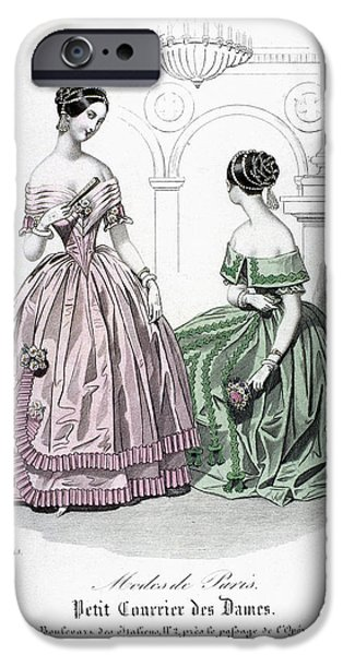 WOMENS FASHION, 1843 iPhone Case by Granger