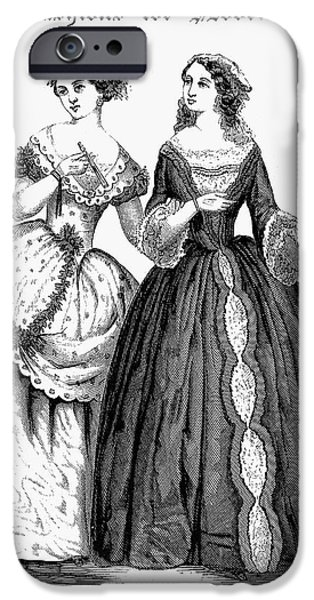 WOMENS FASHION, 1851 iPhone Case by Granger