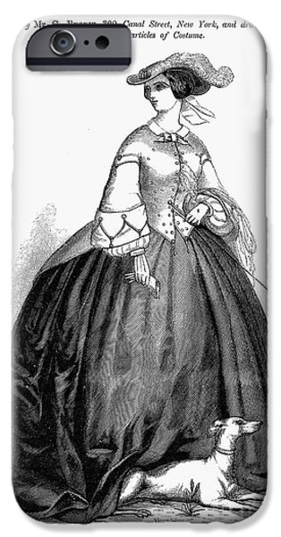 WOMENS FASHION, 1857 iPhone Case by Granger