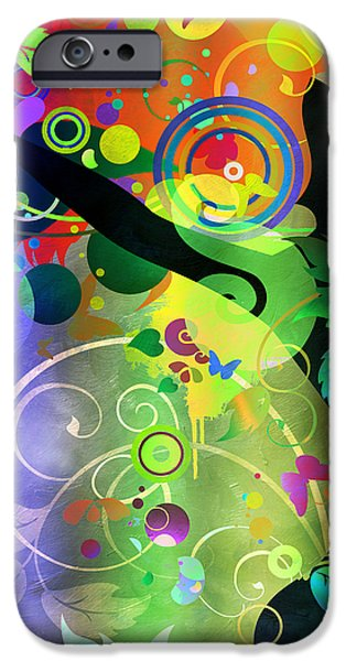 Wondrous 2 iPhone Case by Angelina Vick