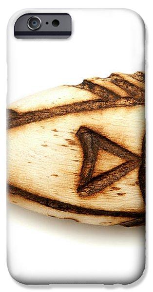 Wooden fish iPhone Case by Fabrizio Troiani