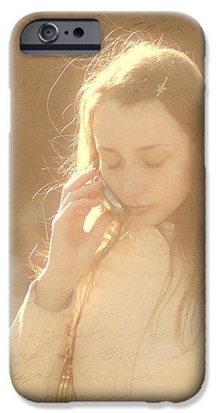 Words left unspoken iPhone Case by Nelieta Mishchenko